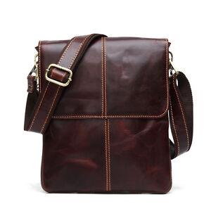 Men's Bag Genuine Leather Messenger Shoulder Bags Handbag Briefcase for Man