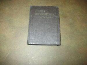 1930  VINTAGE  SHAVER'S  MASONIC  MONITOR  BOOK - ANCIENT  CRAFT  MASONRY