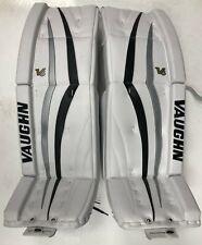 New Vaughn TC 5500 replacement toe guards set goalie pads protector cap white