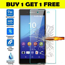 Tempered Glass Screen Protector Cover For Sony Xperia XZ S    case friendly