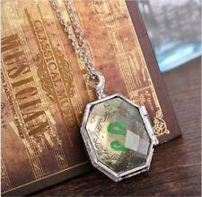 Cosplay Harry Potter Slytherin Locket Horcrux pendant necklace Salazar gift #3