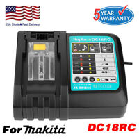 DC18RC Fast Lithium-Ion Battery Charger BL1830 BL1840 BL1850 For Makita 14.4-18V