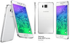 New Unlocked Samsung Galaxy Alpha SM-G850A 32GB AT&T White. LCD Shadow