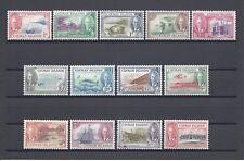 CAYMAN ISLANDS 1950 SG 135/47 MINT/MNH Cat £80
