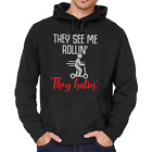 They See Me Rollin They Hatin E-Scooter Escooter Hoody Sweater
