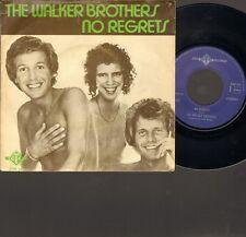 "WALKER BROTHERS No Regrets SINGLE 7"" Remember Me 1975"