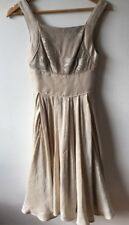 Like New Aurelio Costarella Dress Size 0 Bone