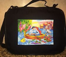 TRADING BOOK FOR DISNEY PINS Ariel And Eric Little Mermaid Boat LRge/MED PIN BAG