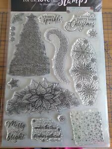 Hunkydory For the Love of Stamps 'A Sparkling Christmas' A4 Edge it Stamp Set