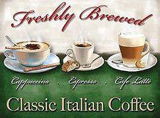 Classic Italian Coffee fridge magnet   (og)