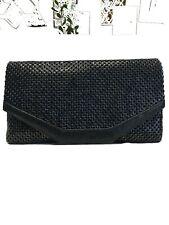 Vintage 50/6'S Whiting & Davis Black Mesh Clutch Evening Purse Handbag
