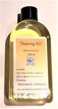 Shaving Oil for Men with Calendula 100 ml, Nourishing, Healing, Sensitive Skin