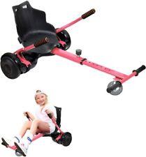 """Kart Assis Hoverboard Equilibre Longueur Ajustable Compatibles 6.5"""" - 10"""" Rose"""