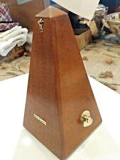 Vintage Seth Thomas Metronome De Maelzel #7 Piano Instrument Pyramid(Works well)