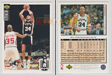 NBA UPPER DECK 1994 COLLECTOR'S CHOICE - Terry Cummings # 65 Ita/Eng MINT