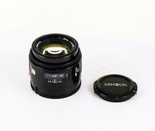 MINOLTA af 50 mm 1.4 Minolta AF and Sony A Mount