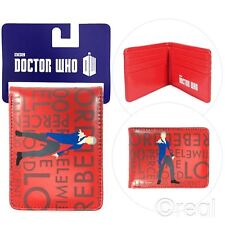 NEU Doctor Who 100% rebellierend Time Lord faltgeldbörse Peter Capaldi BBC