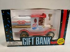 NOS VINTAGE 1993 PEPSI COLA Gift Bank Delivery Truck COIN BANK COLLECTABLE