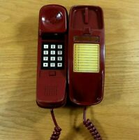 SPECTRA PHONE TL-5 Vintage 1970's Trimline Corded Telephone UNTESTED, SOLD AS IS