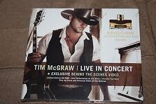 Tim McGraw SEALED Promo CD-Rom Live in Concert