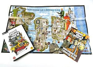 PC CD-ROM Game Grand Theft Auto III 3 Map Included Rockstar E545