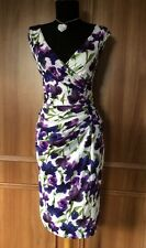 """Phase Eight """"Sweet Pea"""" Silky Jersey Dress - Size 14"""