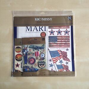 K & Company Marines Paper Kit