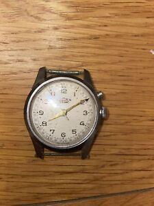 Vulcain Cricket Vintage Alarm Wrist Watch