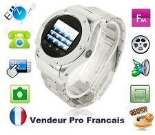 Montre Téléphone Ecran Tactille Photo Caméra Lecteur MP3/MP4 FM USB  4 bande
