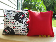 Houston Texans Cornhole Bags FREE PRIORITY SHIPPING!!! Set of 8 Corn hole Bags