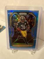 2020 Panini Prizm #393 Anthony McFarland Jr. Light Blue Prizm RC SP Steelers