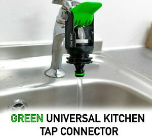 UNIVERSAL Kitchen Mixer & Single Tap Connector ADAPTER to Garden Hose Pipe