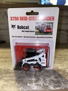 1/50th Scale BobCat S750 Skid-steer Loader  Die-cast M-series No Card