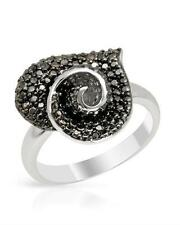 Heart Ring With Genuine Diamonds 925 Sterling silver !!!