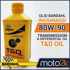OLIO TRASMISSIONE E INGRANAGGI BARDAHL T&D 80W90 AUTO-MOTO-SCOOTER