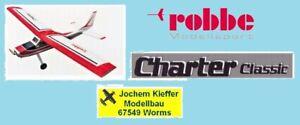 "Robbe Charter ""Classic"" mit Alu-Fahrwerk Laser-Cut Holz-Baukasten NEU OVP !"