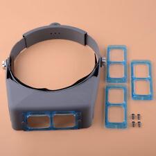 Kopfband lupe Head Band Vergrößerungsglas Optische Glaslinse Schweißen Uhrmacher