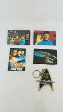 Vintage Star Trek Movie Promo Magnets And Keychain