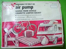 Sears emergency roadside portable air pump 12v 12 volt DC 28-1120 vintage