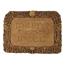 Merry Meet Wall Plaque - Wood Finish - Dryad Designs - Wiccan Wicca Pagan