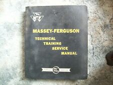 Massey Ferguson Technical Training Service Manual + Other Booklets +++