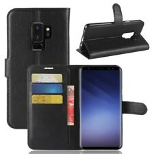 Cartera De Bolsillo Negro Premium para Samsung Galaxy S9 Plus g965f