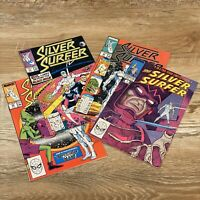 Vintage Silver Surfer Mixed Lot Of 4 - Feb 20 Is Ron Lim SIGNED! Marvel Comics