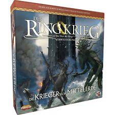 Asmodee Der Ringkrieg 2. Edition: Die Krieger von Mittlerde, Brettspiel