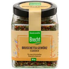 Brecht Bio Bruschetta, 55 g Glas | glutenfrei | vegan | Gewürzmischung