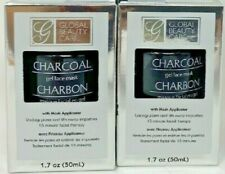 Lot of 2-Global Beauty Care Charcoal Gel Face Mask ,BNIB,Great New Product
