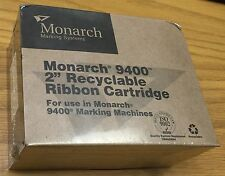 "*NEW* OEM Paxar Monarch 2"" 9400 Recyclabe Ribbon Cartridge 11077020"