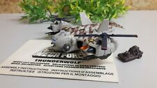 ACC ZN  megaforce thunderwolf near complete missing yellow missile