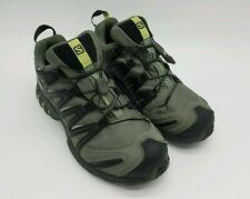 Salomon XA Pro 3D Chassis Men's Waterproof Trail Running Shoes Gray 145464 Sz 9
