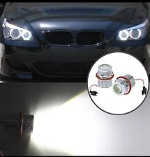 LED Angel Eyes BLANC  60w POUR BMW E39,E87,E60,E61,E64,E65, E66 E53 x3 e83 x5